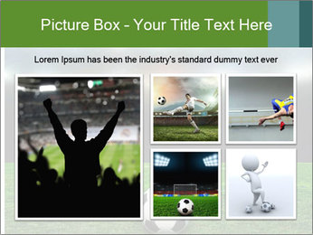 Stadium Lights PowerPoint Template - Slide 19