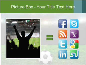 Stadium Lights PowerPoint Template - Slide 21