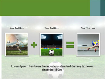 Stadium Lights PowerPoint Template - Slide 22