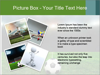 Stadium Lights PowerPoint Template - Slide 23