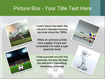 Stadium Lights PowerPoint Template - Slide 24