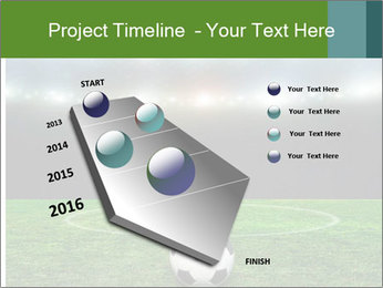 Stadium Lights PowerPoint Template - Slide 26