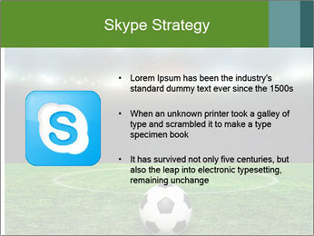 Stadium Lights PowerPoint Template - Slide 8