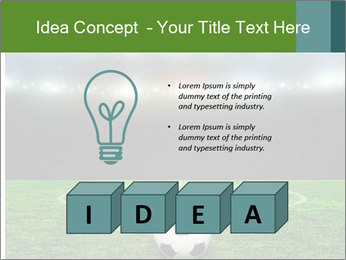 Stadium Lights PowerPoint Template - Slide 80
