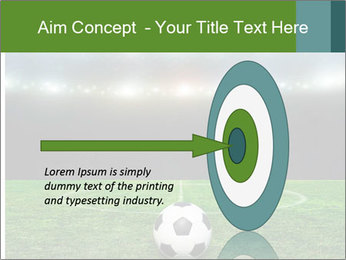 Stadium Lights PowerPoint Template - Slide 83