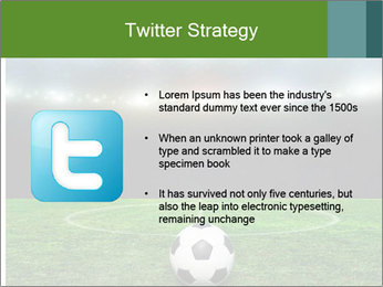 Stadium Lights PowerPoint Template - Slide 9
