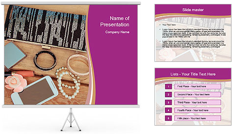 Handmade Bracelets PowerPoint Template