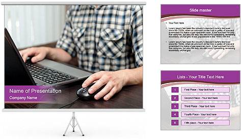 IT Freelance PowerPoint Template