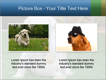 White Puppy PowerPoint Template - Slide 18