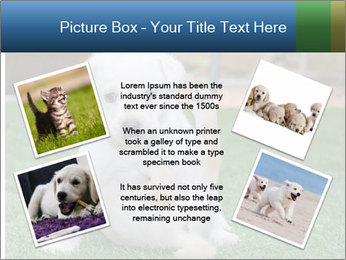 White Puppy PowerPoint Template - Slide 24