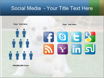 White Puppy PowerPoint Template - Slide 5