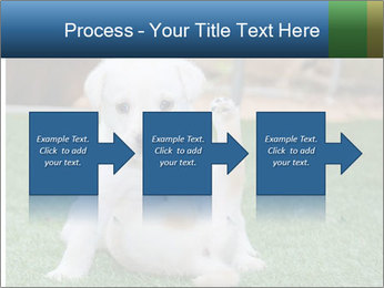 White Puppy PowerPoint Template - Slide 88