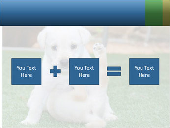 White Puppy PowerPoint Template - Slide 95