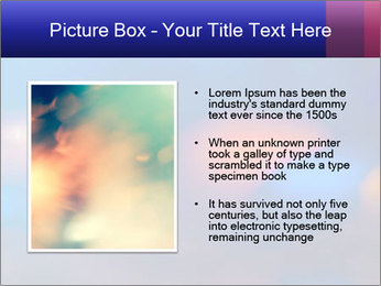 Red And Blue Lights PowerPoint Template - Slide 13