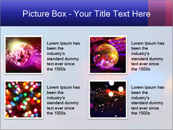 Red And Blue Lights PowerPoint Template - Slide 14
