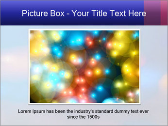 Red And Blue Lights PowerPoint Template - Slide 15