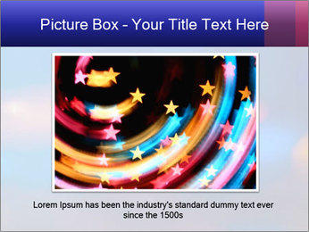 Red And Blue Lights PowerPoint Templates - Slide 16