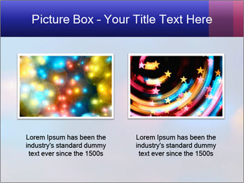 Red And Blue Lights PowerPoint Template - Slide 18