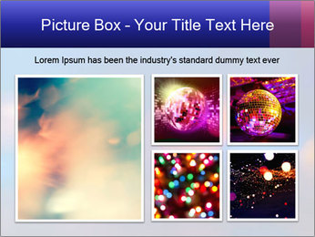 Red And Blue Lights PowerPoint Template - Slide 19