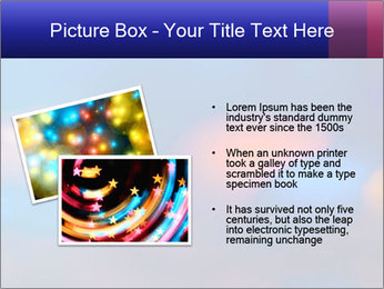 Red And Blue Lights PowerPoint Template - Slide 20