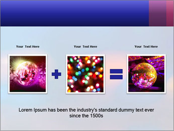 Red And Blue Lights PowerPoint Template - Slide 22