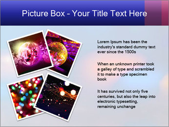 Red And Blue Lights PowerPoint Template - Slide 23