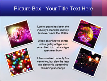 Red And Blue Lights PowerPoint Template - Slide 24
