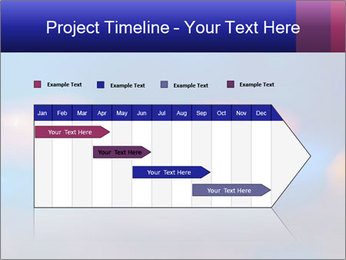 Red And Blue Lights PowerPoint Templates - Slide 25