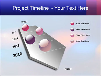 Red And Blue Lights PowerPoint Template - Slide 26