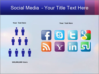 Red And Blue Lights PowerPoint Template - Slide 5