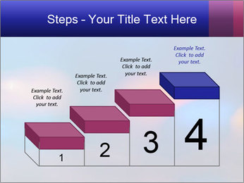 Red And Blue Lights PowerPoint Template - Slide 64