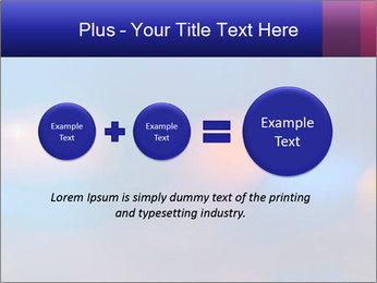 Red And Blue Lights PowerPoint Template - Slide 75