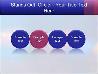 Red And Blue Lights PowerPoint Template - Slide 76