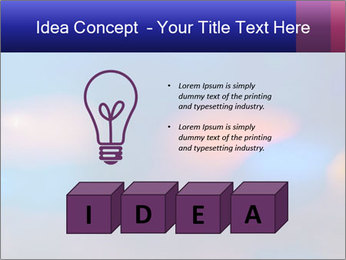 Red And Blue Lights PowerPoint Template - Slide 80