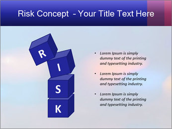 Red And Blue Lights PowerPoint Template - Slide 81