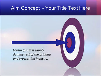 Red And Blue Lights PowerPoint Template - Slide 83