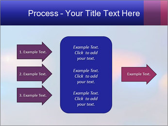 Red And Blue Lights PowerPoint Template - Slide 85