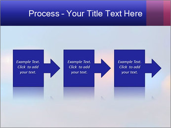 Red And Blue Lights PowerPoint Templates - Slide 88