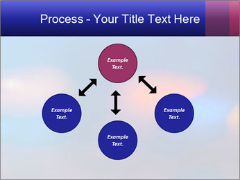 Red And Blue Lights PowerPoint Template - Slide 91