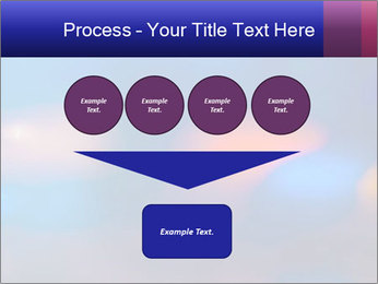 Red And Blue Lights PowerPoint Template - Slide 93