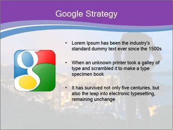 Man Enjoys Sunset PowerPoint Template - Slide 10