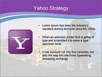 Man Enjoys Sunset PowerPoint Template - Slide 11