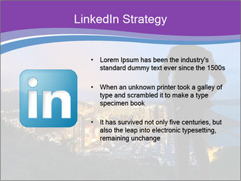 Man Enjoys Sunset PowerPoint Template - Slide 12