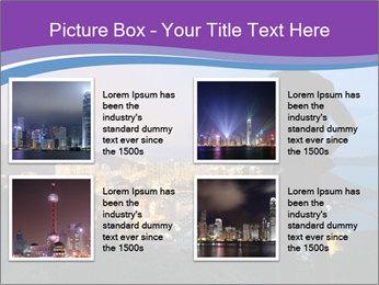 Man Enjoys Sunset PowerPoint Template - Slide 14