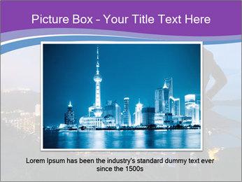Man Enjoys Sunset PowerPoint Template - Slide 15