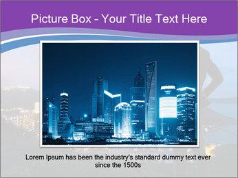 Man Enjoys Sunset PowerPoint Template - Slide 16
