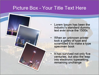 Man Enjoys Sunset PowerPoint Template - Slide 17