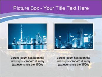 Man Enjoys Sunset PowerPoint Template - Slide 18