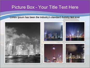 Man Enjoys Sunset PowerPoint Template - Slide 19