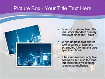 Man Enjoys Sunset PowerPoint Template - Slide 20